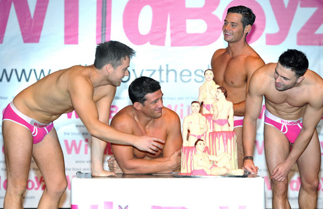 'WildBoyz' • From left to right: Marcus Patrick, Alex Reid, Danny Young and Dale Howard.