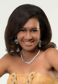 Pemenang Miss Indonsia 2012 Miss Persahabatan diraih Dina Michelle Parwestri asal Papua