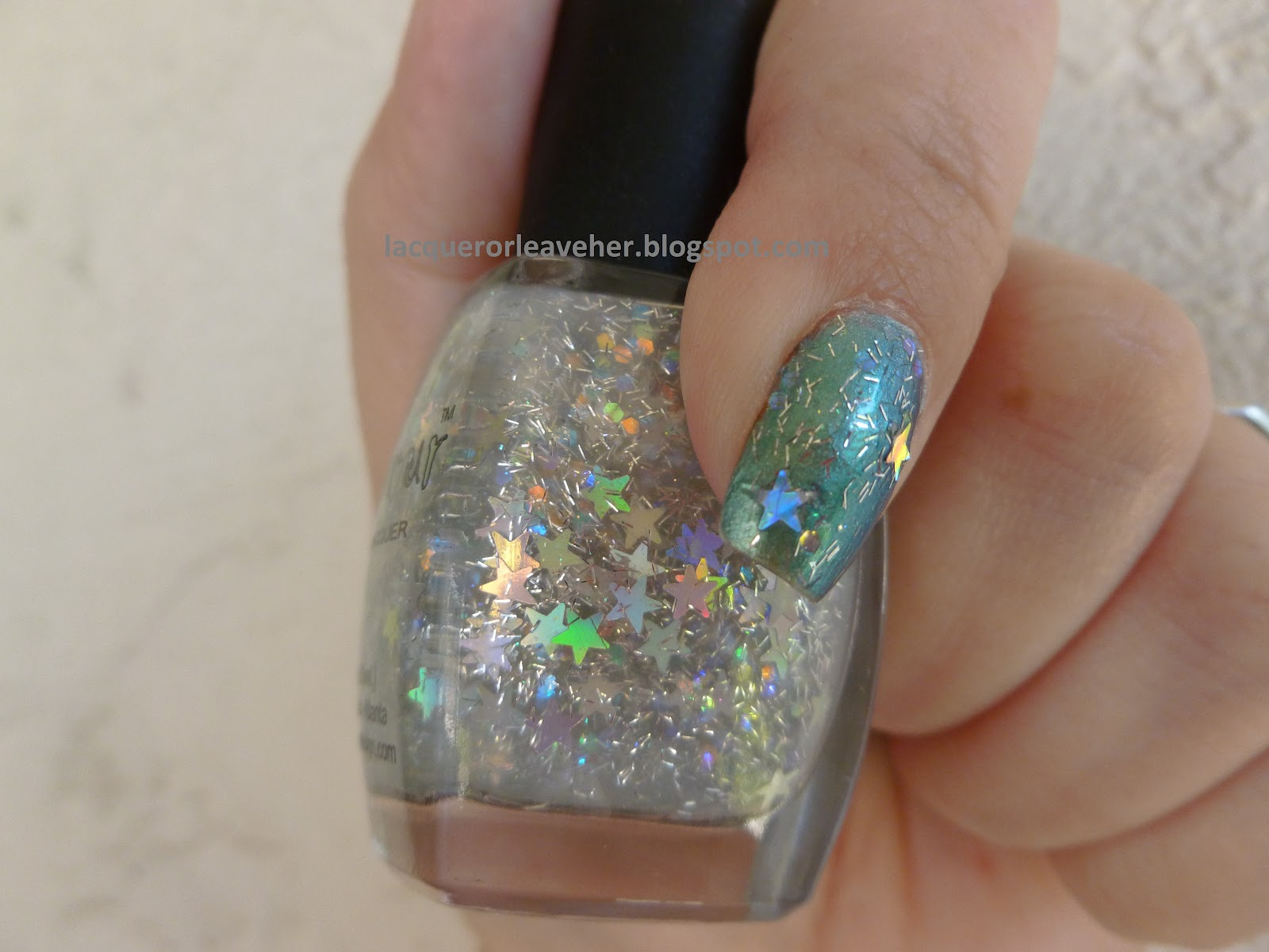 Starlet Night Is Also In A Clear Base And Contains Mini Holographic Bar Glitter Stars I Adore This Tiny Wish More Polishes