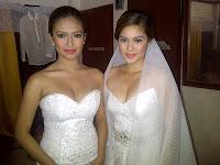 Bangs Garcia and Shaina Magdayao