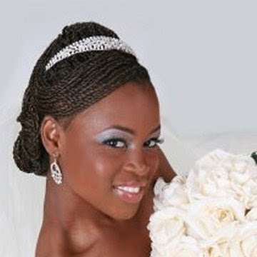 Black Wedding Hair Updos