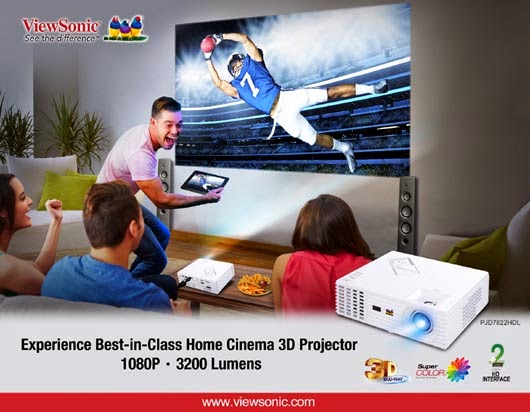 ViewSonic PJD7822HD Projector
