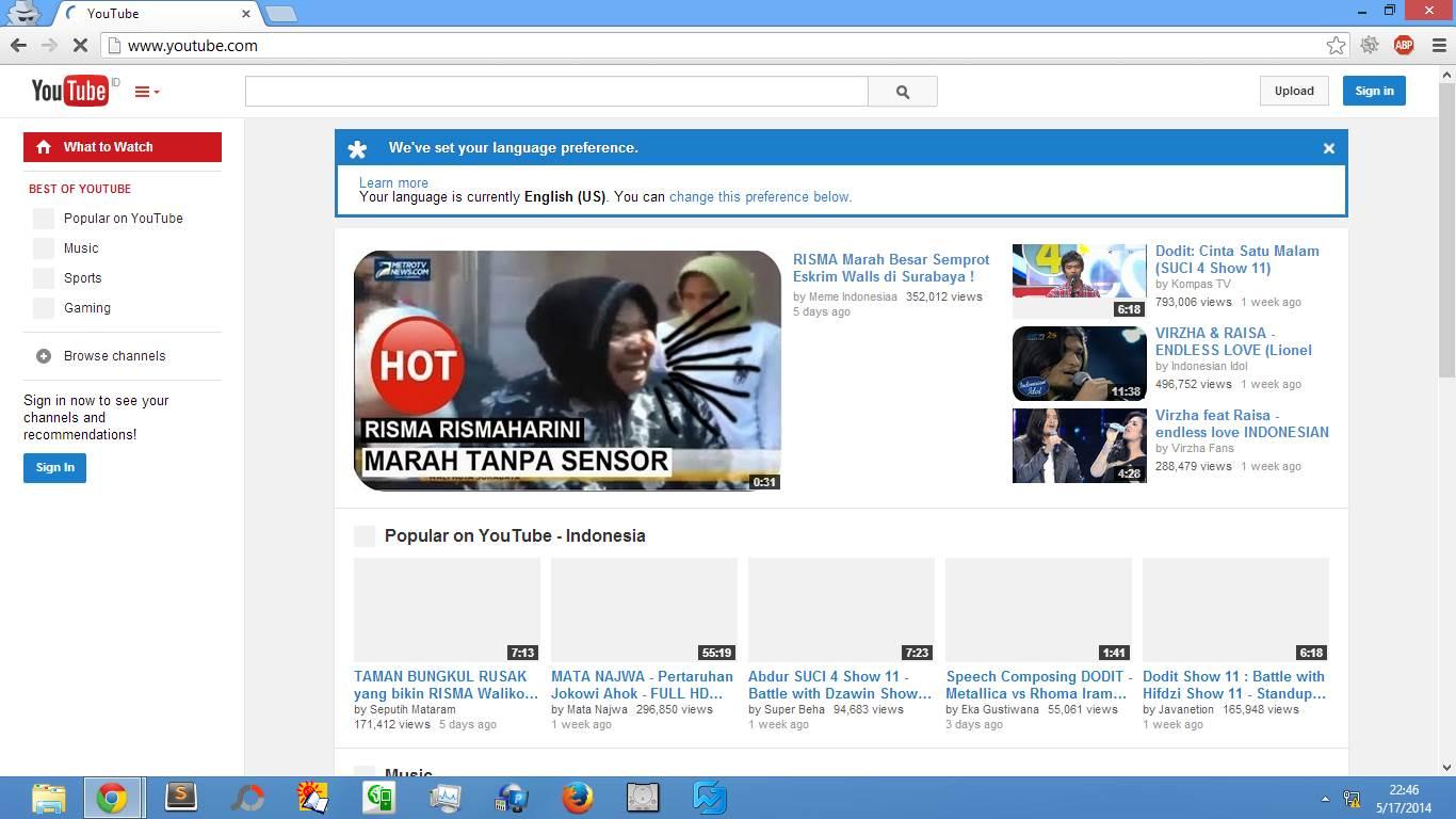 Cara Membuat Akun Youtube Sendiri 2014