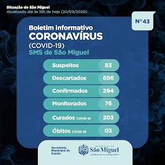 Boletim Epidemiológico 43 - São Miguel - RN