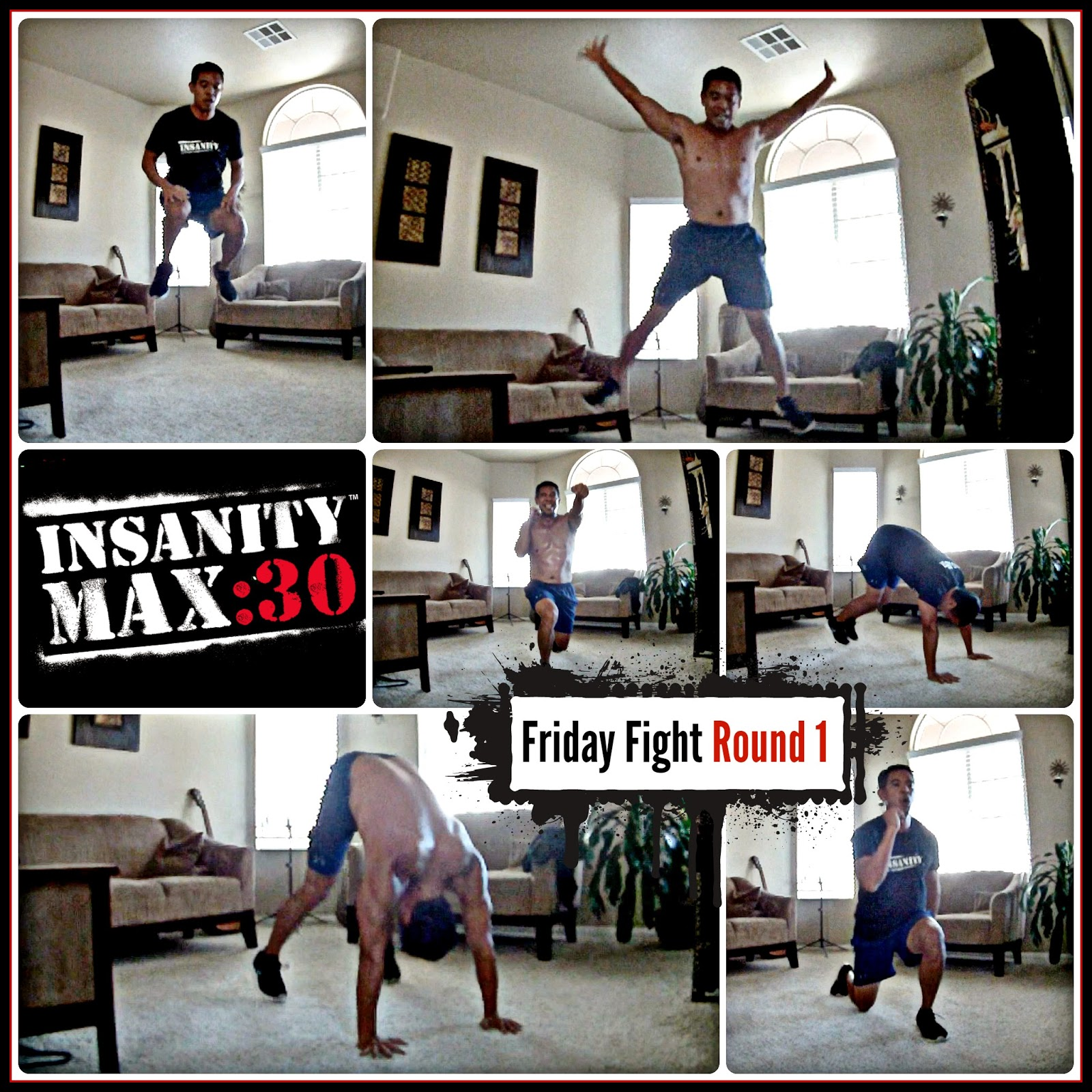 Insanity Max 30 - Friday Fight Round 1 Workout