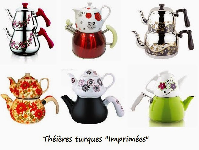 Chambre A Coucher Conforama : Manger Turc  La cuisine turque LA THEIERE TURQUE  CAYDANLIK