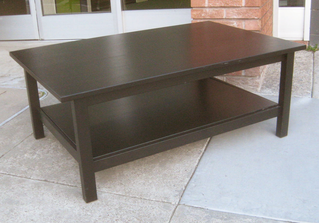 Uhuru Furniture Collectibles Sold Black Ikea Coffee Table