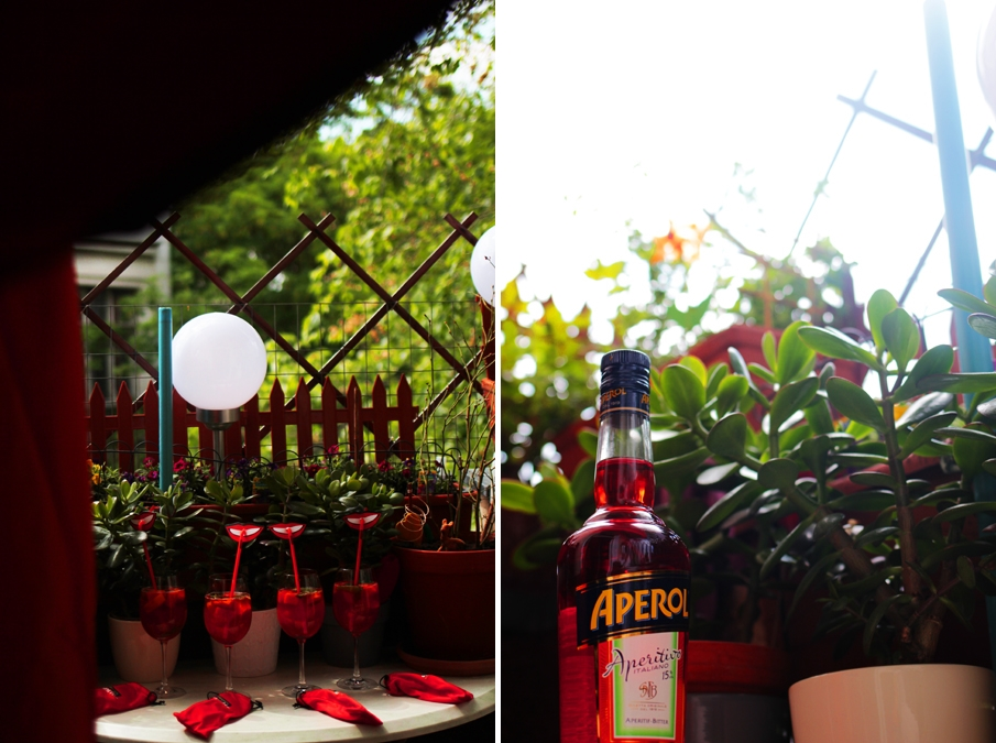 aperol party balkon