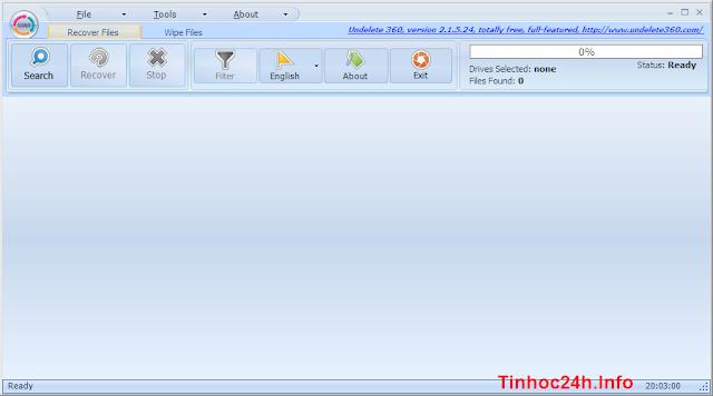 Undelete 360 Screenshot