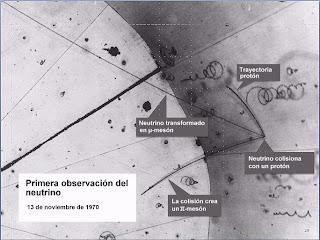 Primera observacion neutrino