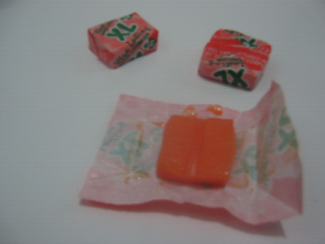 E Z Chew Corporation XL Xtra Lasting Orange Chewing Gum Individual Piece Packaging - Sari-Sari Store Archives