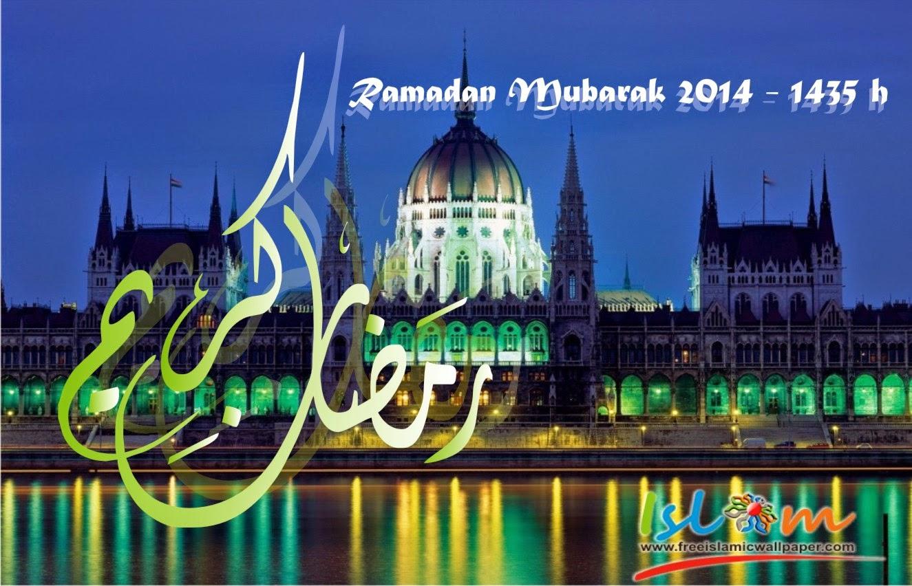 Gambar SMS Ucapan kata kata Ramadan 2014 1435h