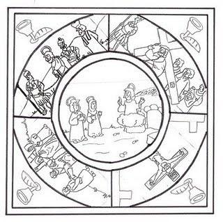 TODO RELIGIÓN: Mandala de Semana Santa.