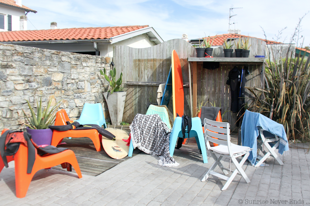 biarritz sur training,biarritz,surf camp,airb'n,maison d'hôtes,nora