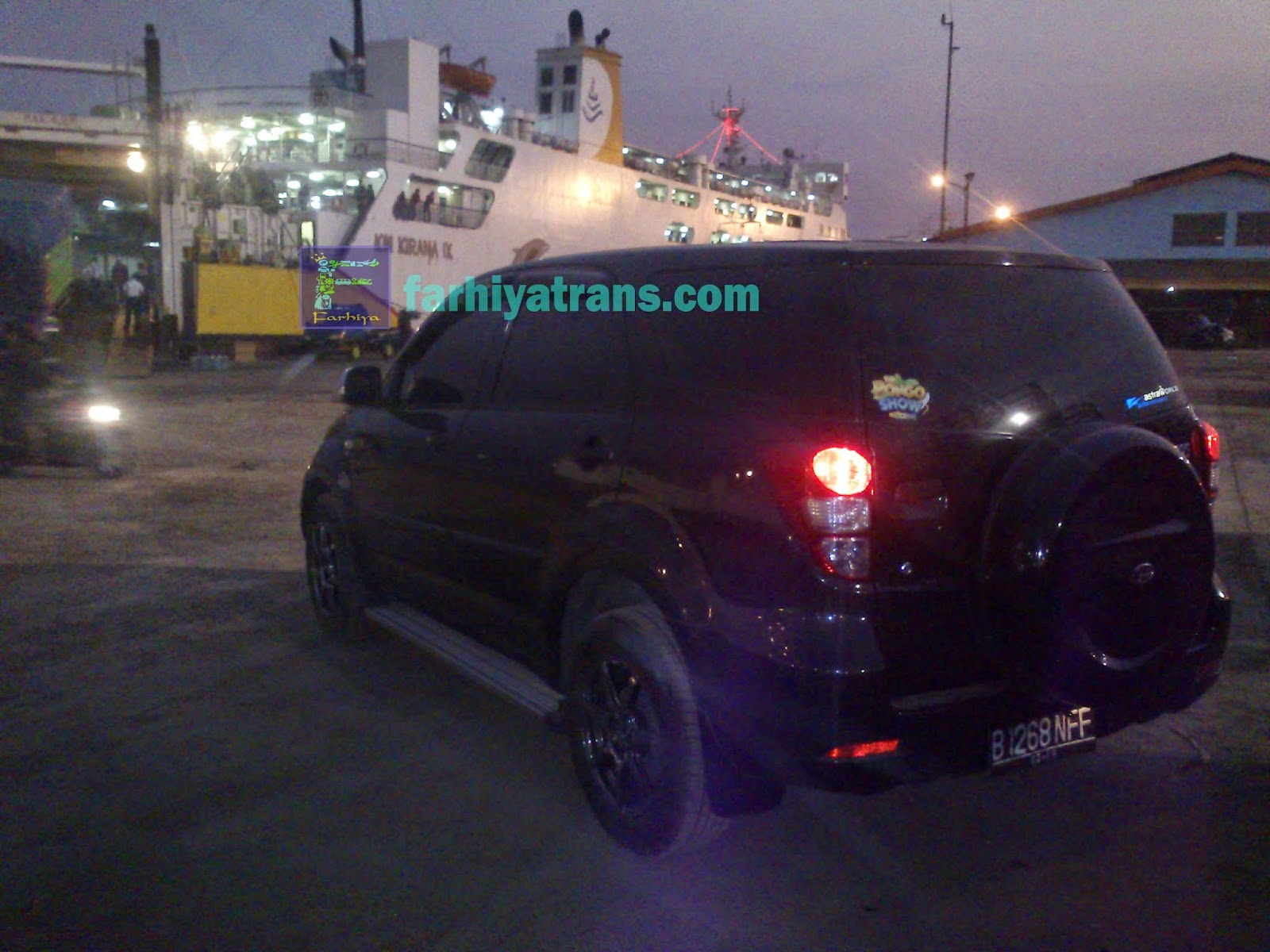 Pengiriman Mobil Daihatsu Terios tujuan Surabaya-Batulicin dengan Kapal Kirana IX