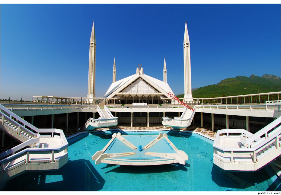 Islamabad Pakistan  city photo : ... DESKTOP WALLPAPERS: The Shah Faisal Mosque in Islamabad, Pakistan