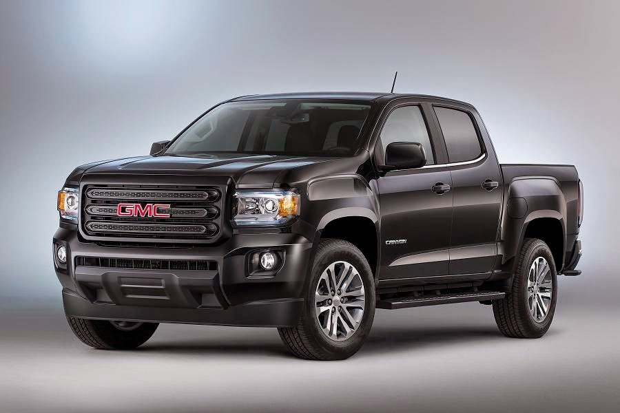 GMC Canyon Nightfall Edition Crew Cab (2015) Front Side