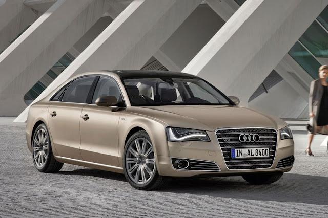 2012 Audi A8 L W12 Brown Wallpaper