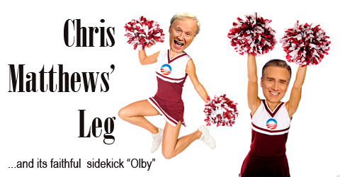 chris matthews  tingle down leg