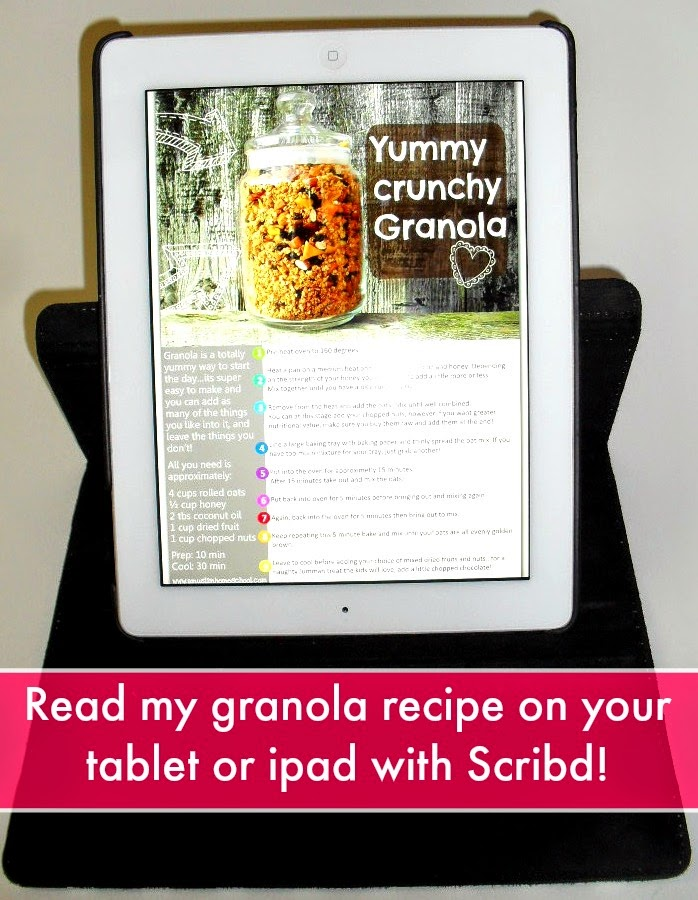 Granola recipe scribd