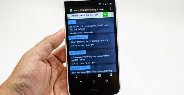 HTC  Desire 616 về tới Việt nam