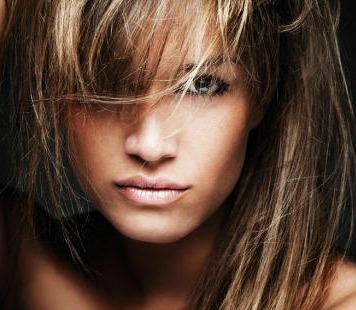 Ash Blonde Highlights | Dark Brown Hairs
