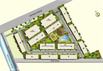 One Oasis Ortigas Site Development Plan, Condominium for sale in Ortigas, Filinvest