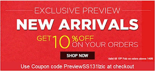 [Hurry!!] Grab Exclusive 10% Discount on Season's New Fashion Style @ Myntra
