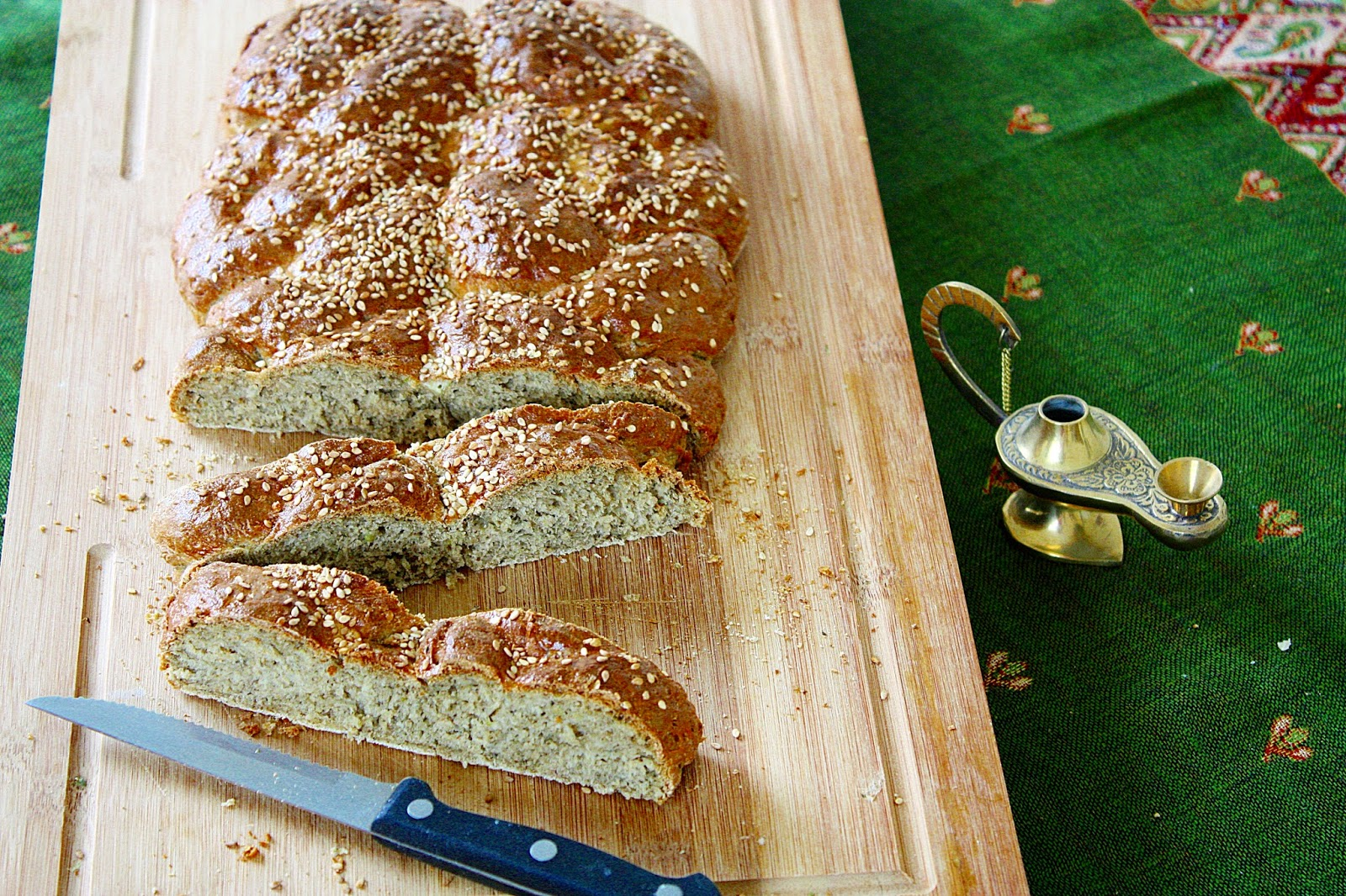 Ägyptisches Brot mit Dukkah