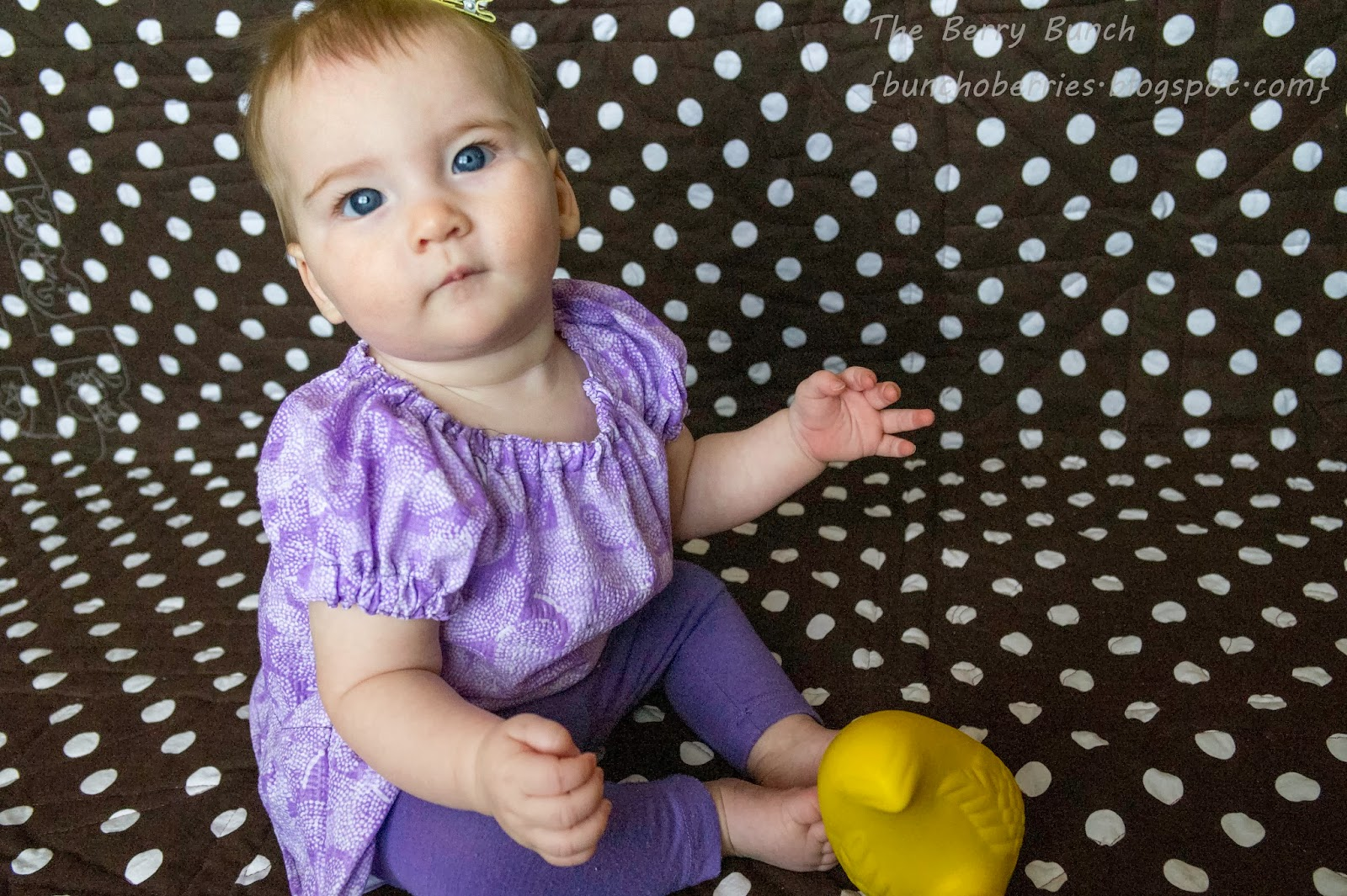 The Berry Bunch: Tie Dye Diva Patterns: Baby Peasant Top Review {TDD Patterns}