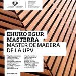 RUE en Master de Madera UPV