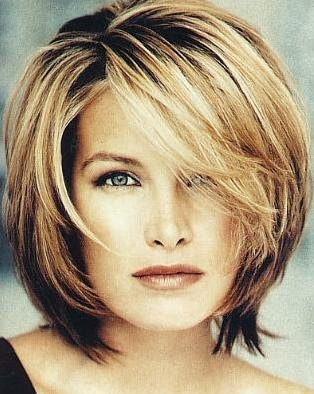 Length Hairstyles on Short Haircuts Short Hairstyles  Medium Length Layered Hairstyles