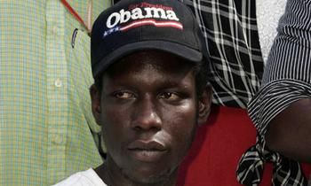 "George_Obama_Hat The Obama Identity: Rush Slams Media and Dirtbag Obama Over ""Brother"" In Need"