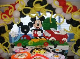 DECORACION CON MICKEY MOUSE Y SUS AMIGOS decoracionesparafiestasinfantiles.blogspot.com/