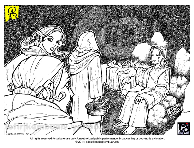 Catatan SiGal: Mewarnai Gambar Yesus Menyembuhkan Orang Buta