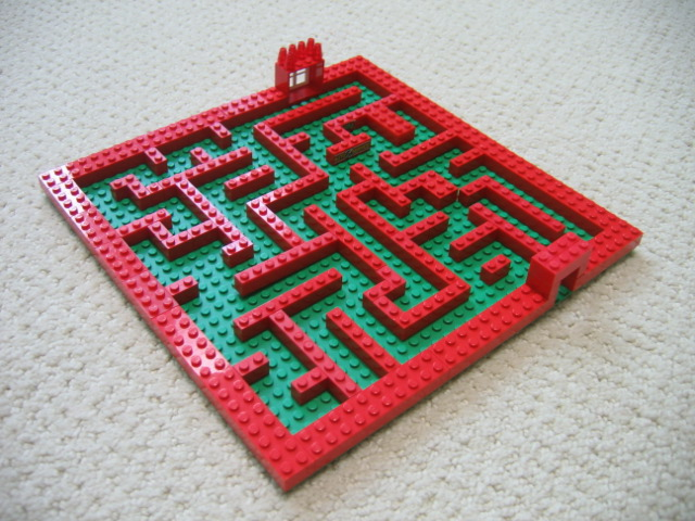 instructions on how to play a maze game