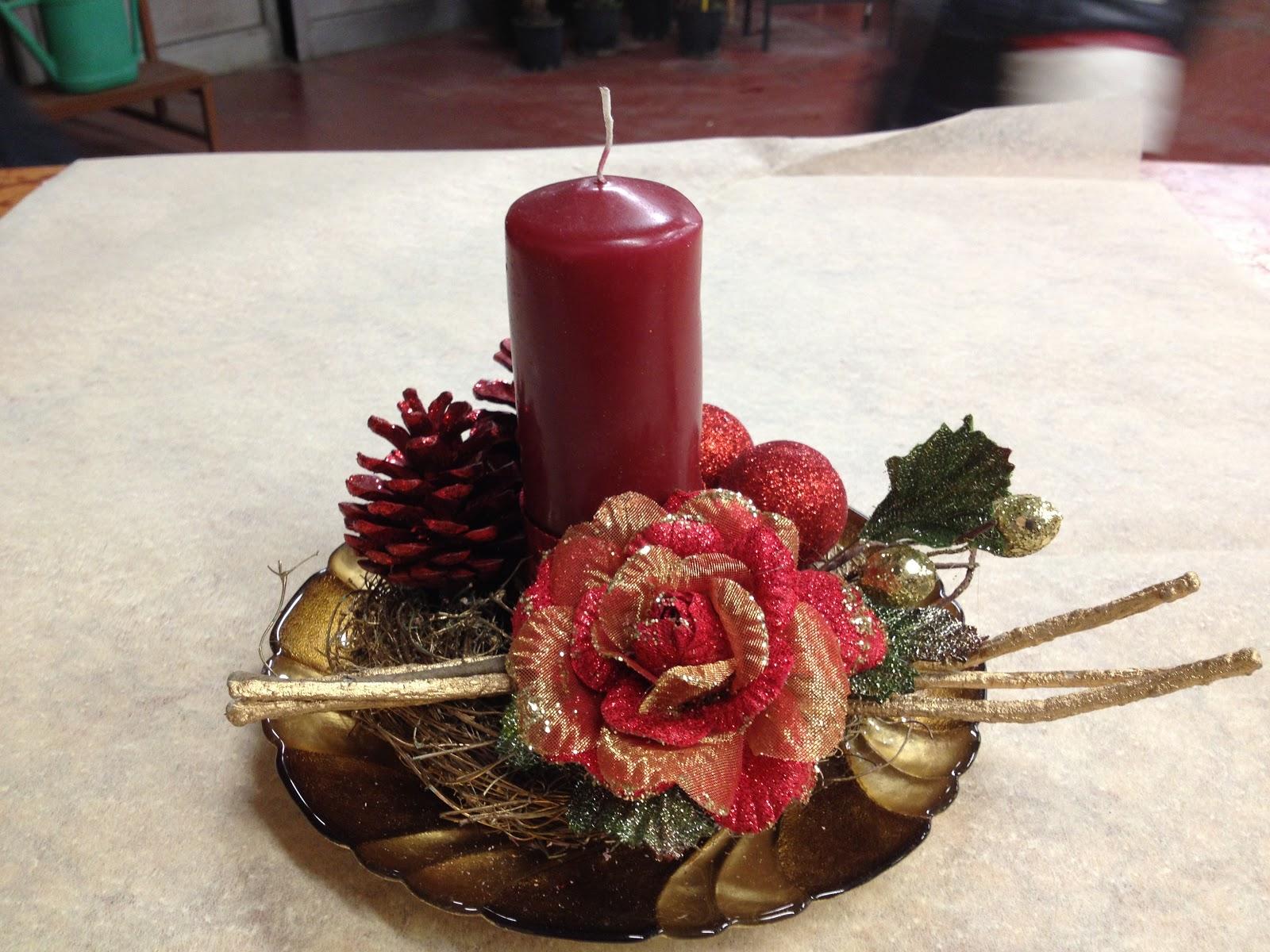 Giada passione creativa centrotavola natalizi - Centrotavola natalizi ...