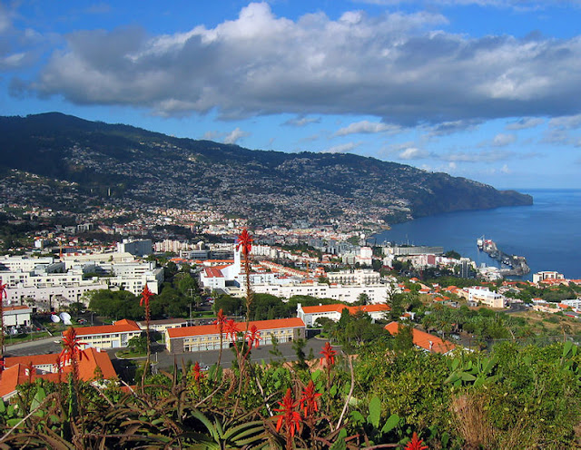 Funchal (view from Pico da Cruz) | Madeira Island (Portugal)- Travel Europe Guide