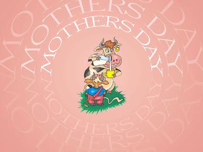 Čestitka za Majčin dan slike pozadine za desktop