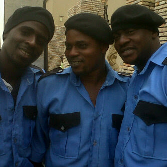 , Muyiwa Ademola & Others Spotted On Arinakore Movie Set (Pictures