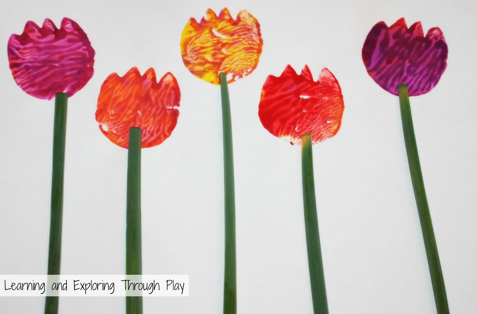 learning and exploring through play tulip potato printing craft kids