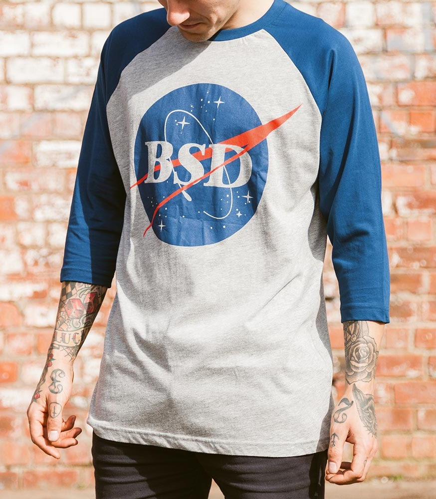 Camiseta 3/4 BSD Baseball $85.000