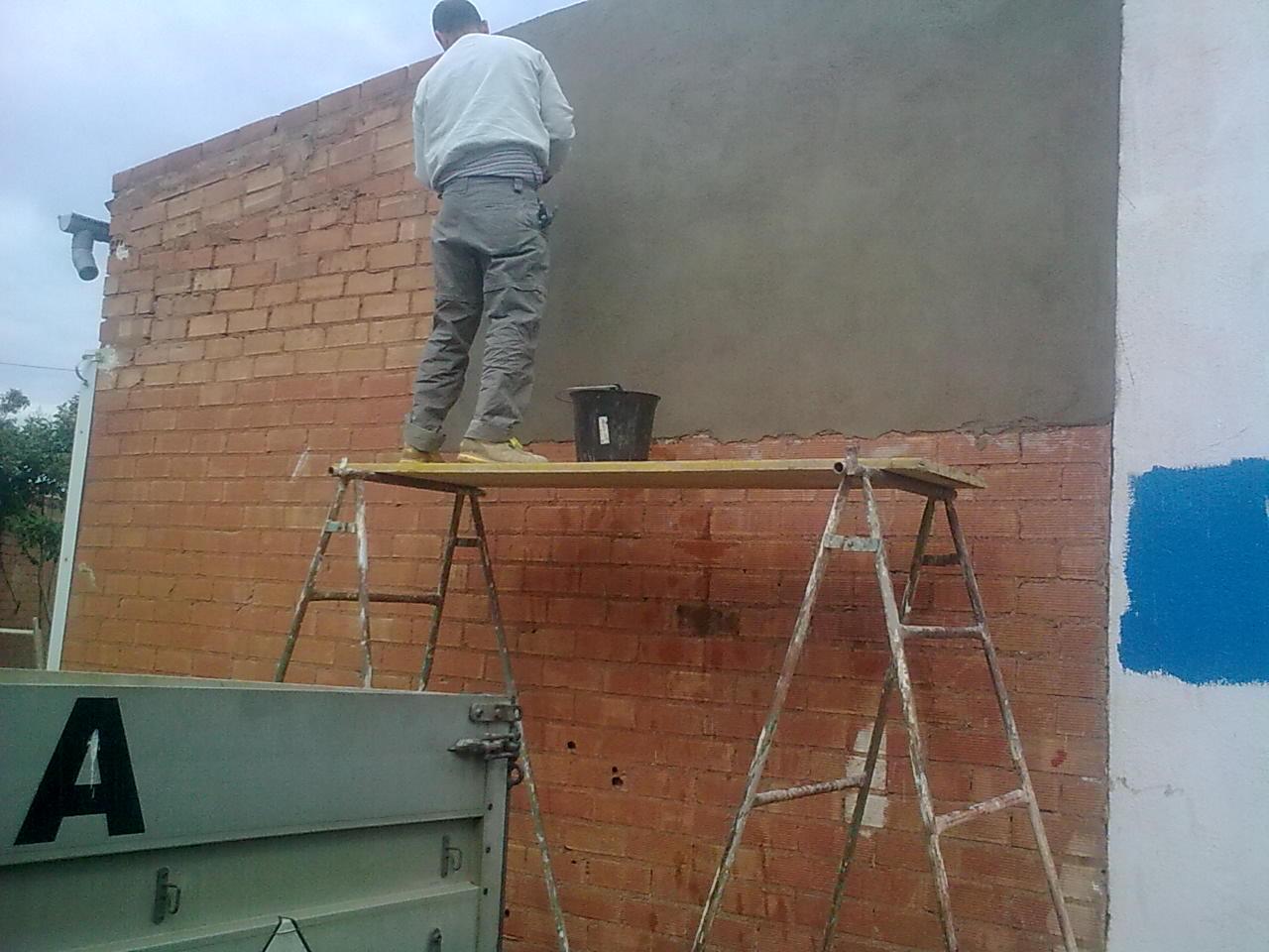 El maestro de obras xavier valderas extendido y for Mortero de cemento