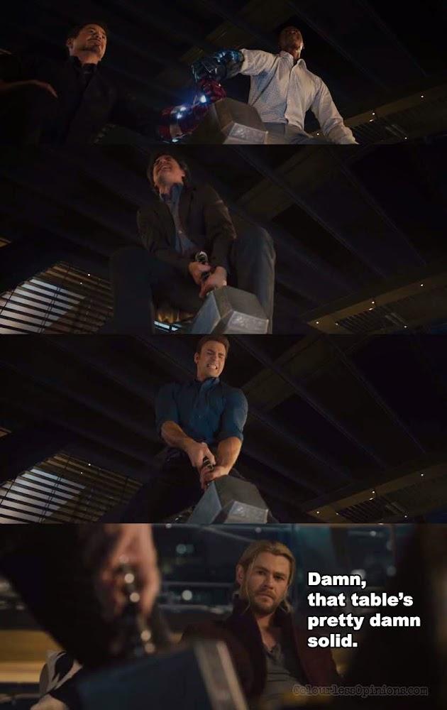 Avengers 2 Age of Ultron meme hammer lift