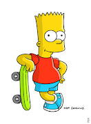 bart. bart simpson is bad good sometimes and funny and a part of the .