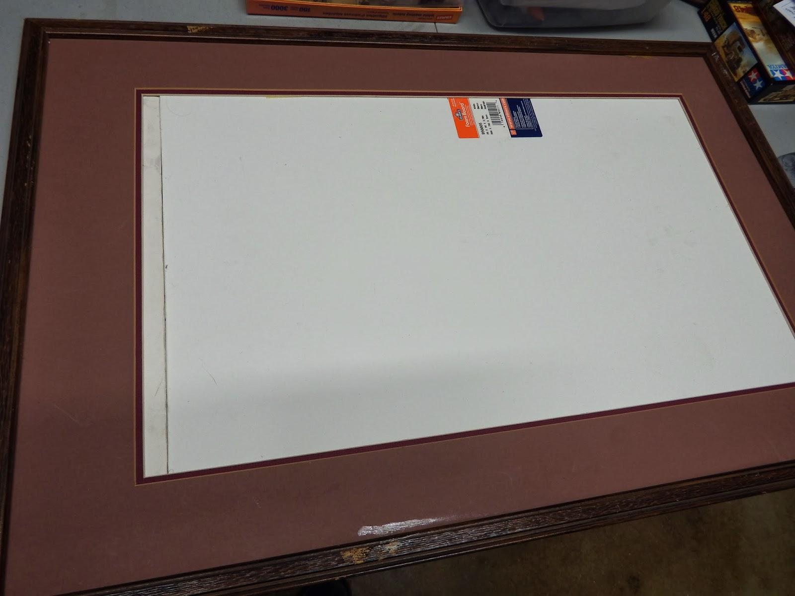 White Metal Games: Turning a Picture Frame into a Display Board