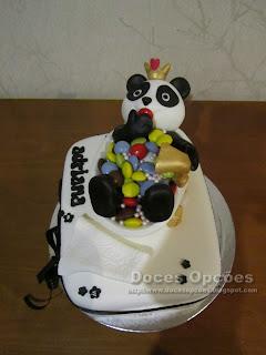 bolo aniversário panda pintarolas bragança