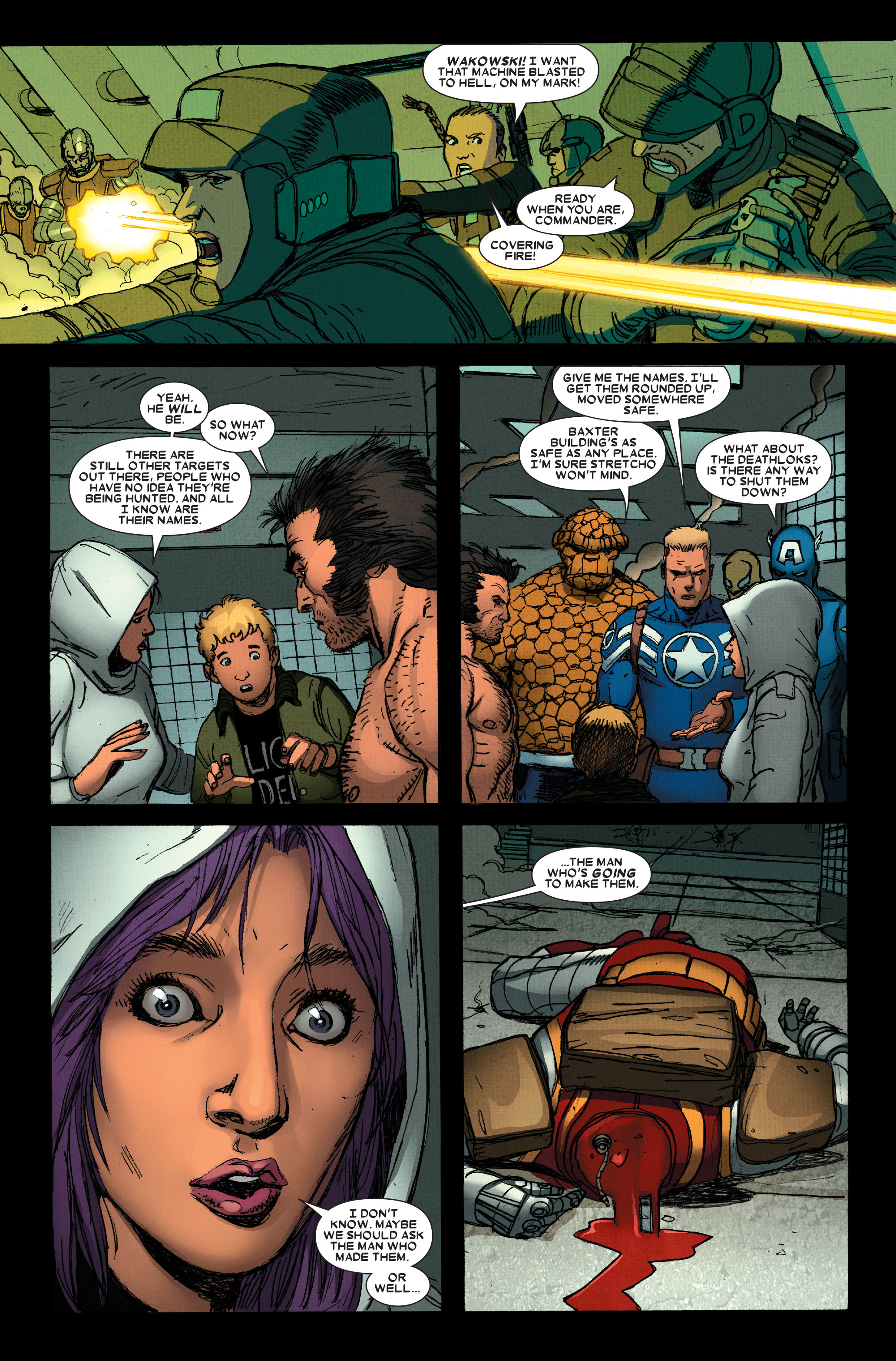 Wolverine: Weapon X #13 #4 - English 15