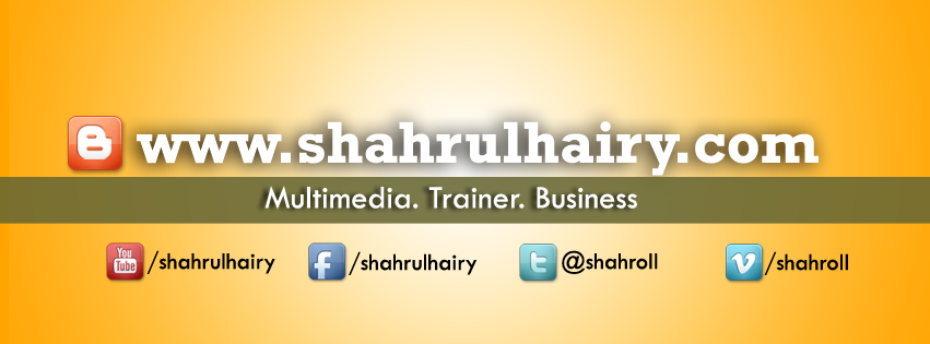 Shahrul Shaharuddin Daily Diary [Life Journal]