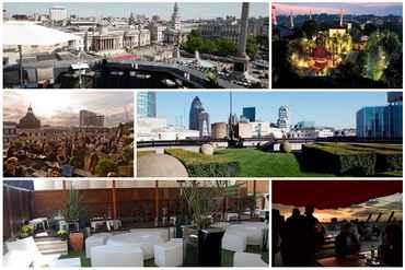 Top 6 quán bar trên sân thượng tuyệt đẹp tại London, quan bar dep, quan bar o london, kham pha am thuc, dia diem doc dao, quan bar tren san thuong, diem den doc dao